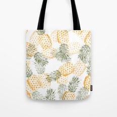 Pineapple mess Tote Bag