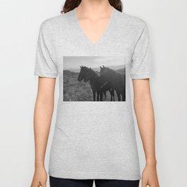 Desert Horses Unisex V-Neck
