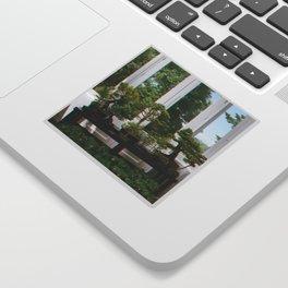 Bonsai Window Sticker