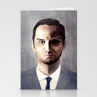 moriarty Stationery Cards featuring Jim Moriarty by Wei Yi