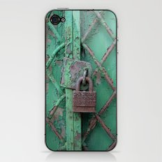 Rusty Lock iPhone & iPod Skin