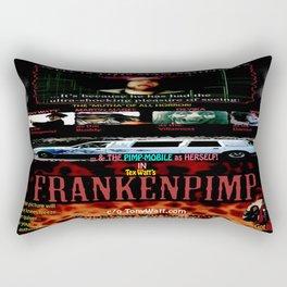 Frankenpimp (2009 ) - 'Original Worldwide Movie Poster' Rectangular Pillow