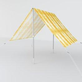 Yellow Tiki Shibori Sun Shade