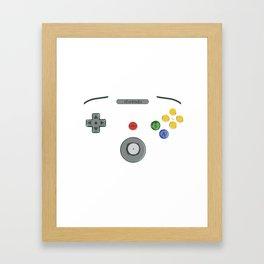 I love my N64! Framed Art Print