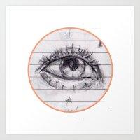 dave matthews Art Prints featuring dave by SuperPills