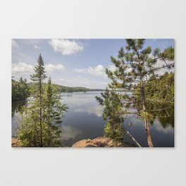 Beth Lake in the Boundary Waters Canoe Area Wilderness Canvas Print