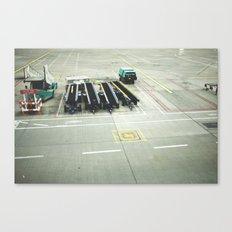 pre flight Canvas Print
