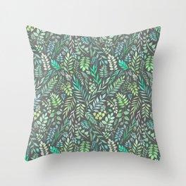 Eucalyptus (Essential Oil Collection) Throw Pillow