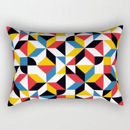 Mulricolor abstract Rectangular Pillow
