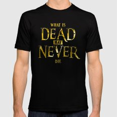 What Is Dead May Never Die: Ironborn Black 2X-LARGE Mens Fitted Tee