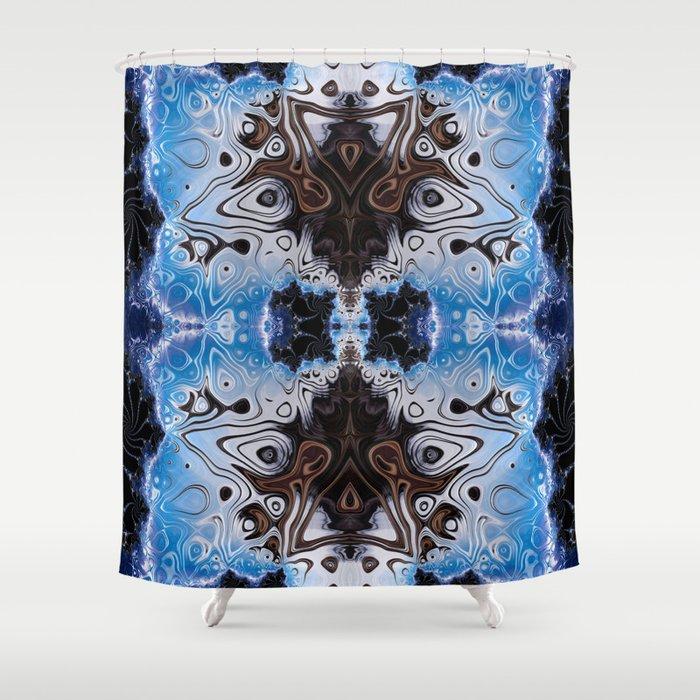 BBQSHOES: Fractal Design 103985 Shower Curtain