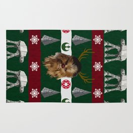 Chewdolph the Red-Nosed Wookiee Rug