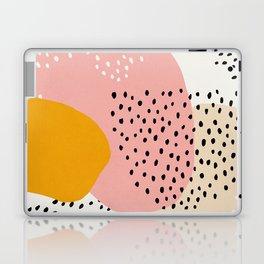 Abstract, Mid century modern kids wall art, Nursery room Laptop & iPad Skin