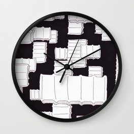 Starches In The Sky Wall Clock