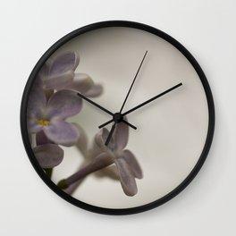Lilac Morning Wall Clock