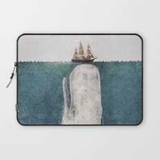 The Whale - vintage  Laptop Sleeve