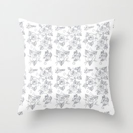 With Love, From Roses Throw Pillow