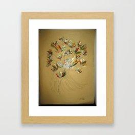 Jewel in the Flower Framed Art Print
