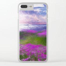 La mer Clear iPhone Case