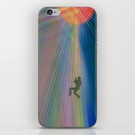reach out and touch confidence iPhone Skin