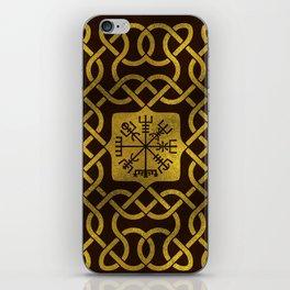 Vegvisir - Viking  Navigation Compass iPhone Skin