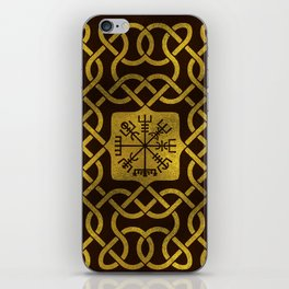 Vegvisir - Viking  Navigation Compass iPhone Skin