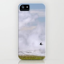 Old Faithful Fly By iPhone Case