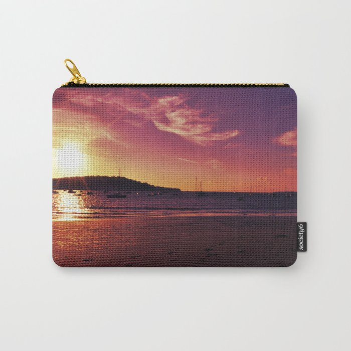 Red Sunset Carry-All Pouch