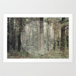 Cycle (Forest) Art Print
