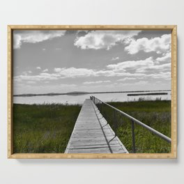 Lake Colac Jetty Serving Tray