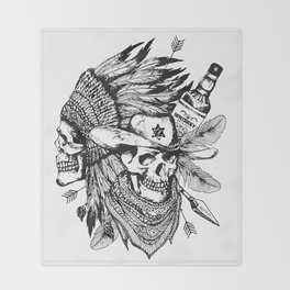Wild West Throw Blanket