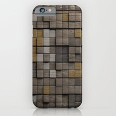 Wood pattern iPhone 6s Slim Case