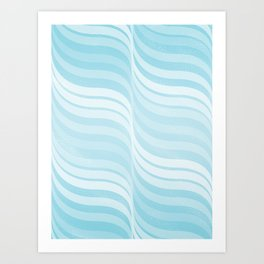 Currents Art Print