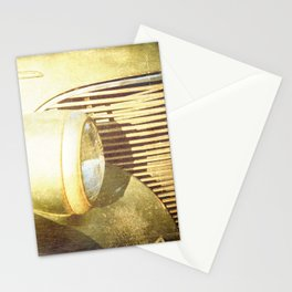Vintage Headlamp Stationery Cards