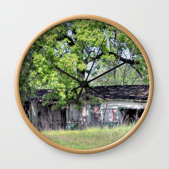 Abandoned and Neglected Wall Clock