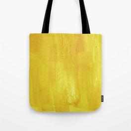 Brushed Yellow Tote Bag