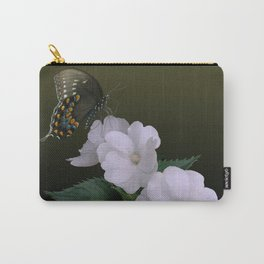 Sunpatiens and Swallowtail Butterfly Carry-All Pouch