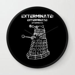 Exterminate! Wall Clock