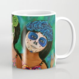The three Catrinas Coffee Mug