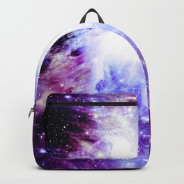 orion Nebula. Purple Magenta Violet Backpack