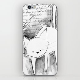 minima - deco cat iPhone Skin