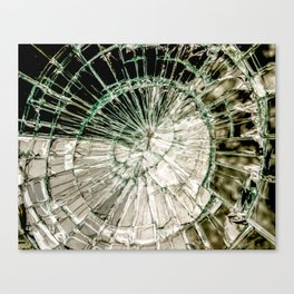 Web of Glass Canvas Print