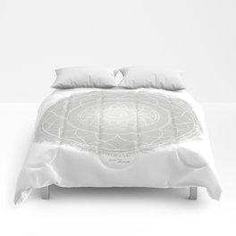 SAHASRARA Boho mandala Comforters
