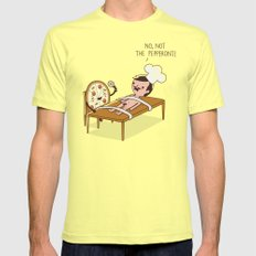 The pepperoni SMALL Lemon Mens Fitted Tee
