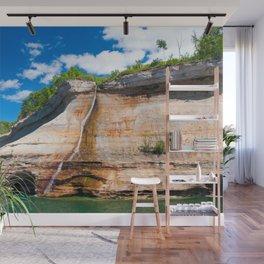 Bridal Veil Falls: Upper Peninsula of Michigan Wall Mural
