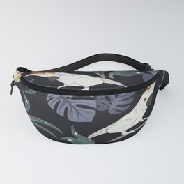 Parrot in jungle Fanny Pack