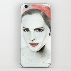 Emma Watson iPhone Skin