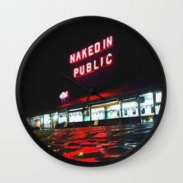 NAKED Wall Clock