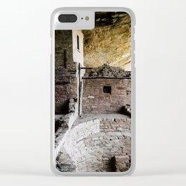 Mesa Verde Clear iPhone Case