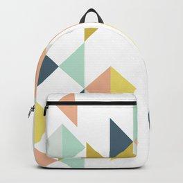 Modern Geometric Design Backpack